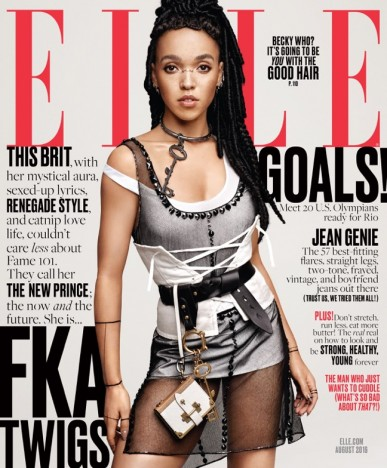 FKA twigs ELLE August 2016
