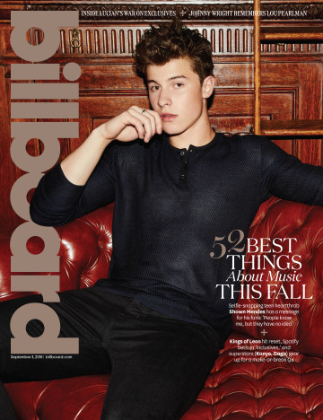 Shawn Mendes Billboard 2016