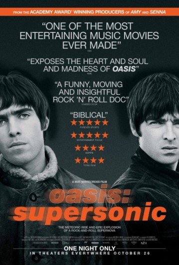 Oasis Supersonic Movie Poster